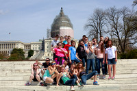 Washington DC 8th Grade Trip (April 2015)