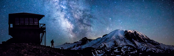 Milky Way over Mount Fremont